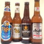 Bier uit Japan en Singapore van Philippine de Jong